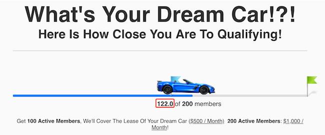 Dream Car Status