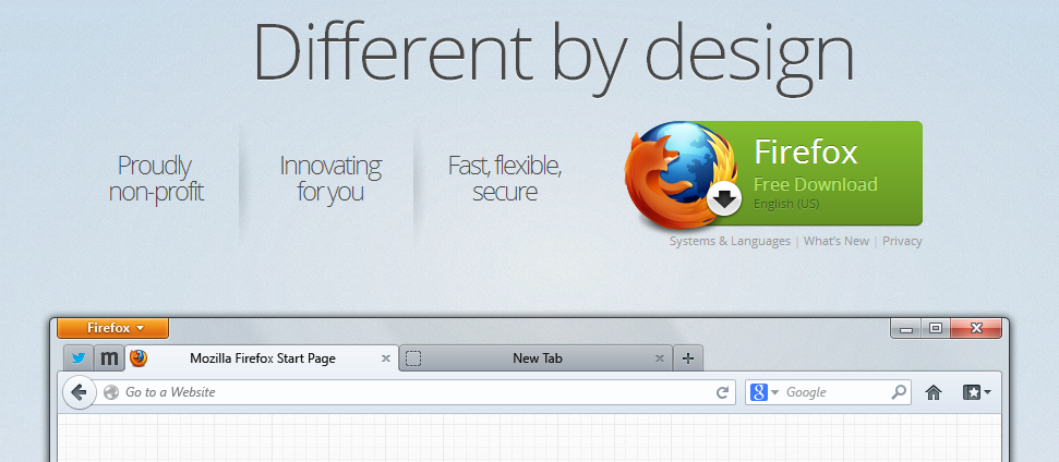 firefox call to action