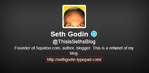 seth godin twitter