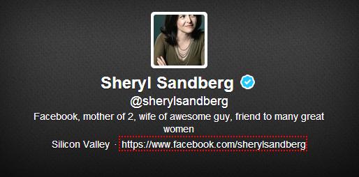 sheryl sandberg twitter