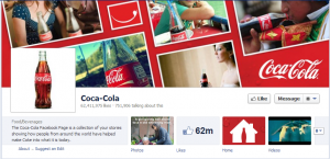 coca colas official facebook business page