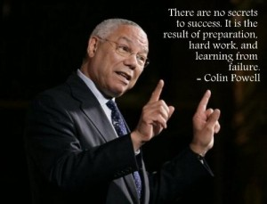 colin powell quotes about success