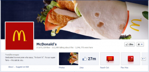 mcdonalds official facebook business page