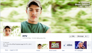 mtv's official facebook business page