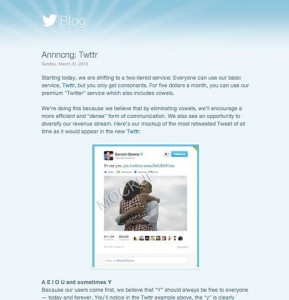twittr april fools 2013 prank