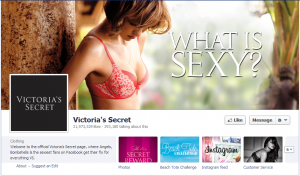 victorias secrets official facebook business page