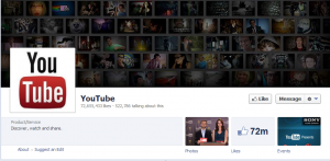 youtube's official facebook business page