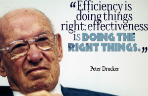 peter drucker businsess quotes