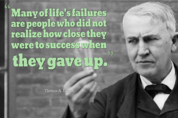 Thomas Edison Inspirational Quotes  Thomas Edison I...