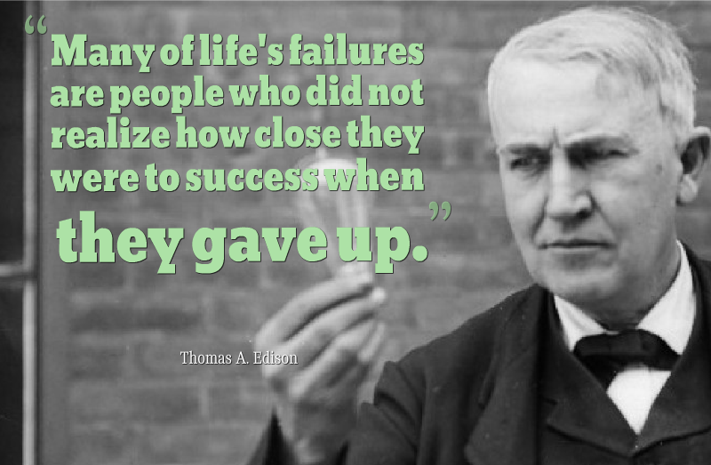 Thomas Edison Inspirational Quotes Gorgeous Thomas Edison Quotes