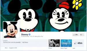 disney facebook page