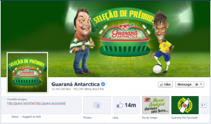 guarana antarctica facebook page