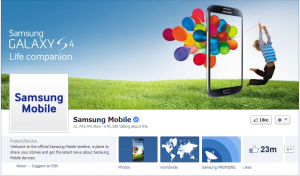 samsung mobile facebook