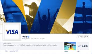 visa facebook page