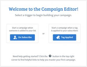 Aweber Campaign Editor