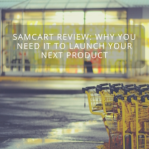 Under 500 Landing Page Software Samcart
