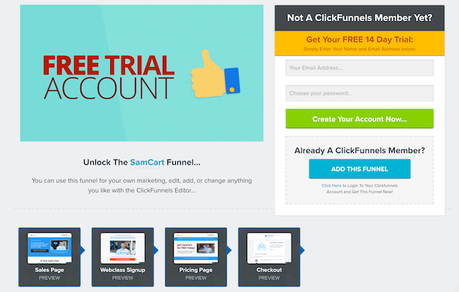7 Simple Techniques For Clickfunnels 14 Day Free Trial