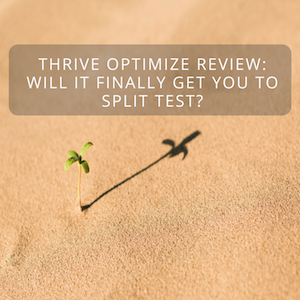 Thrive Optimize Review: Will It Finally Get You To Split Test?