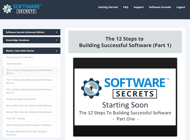 Software Secrets masterclass
