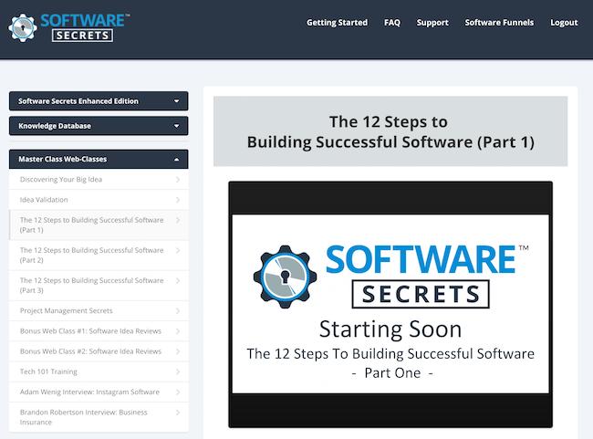 Software Secrets masterclass