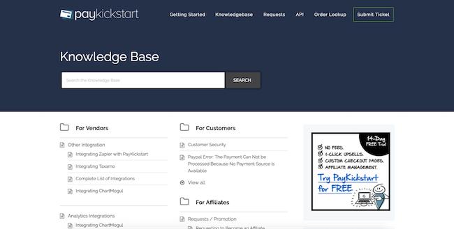 PayKickStart knowledge base