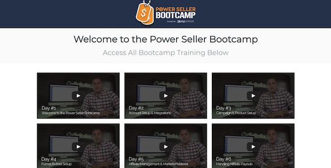 PayKickStart Powerseller bootcamp
