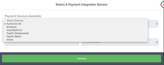 PayKickStart supported payment services