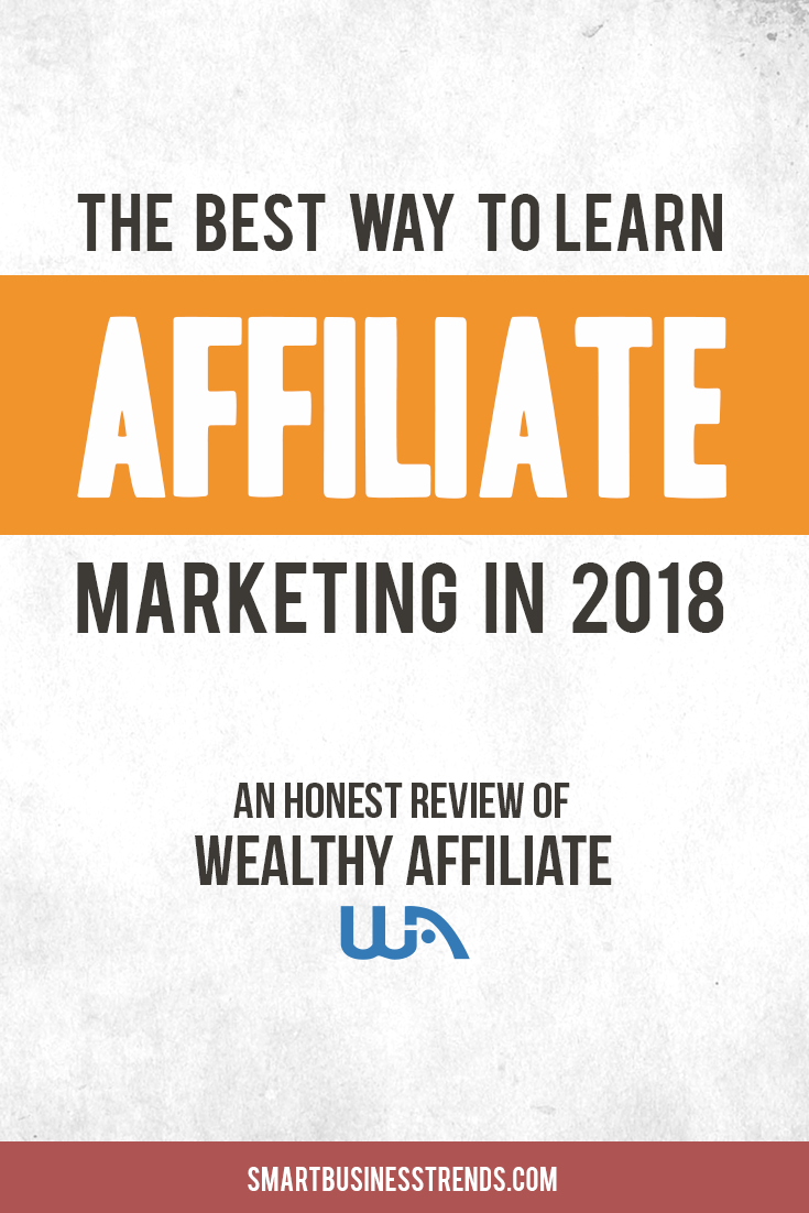 Want to learn affiliate marketing?  One great community for learning affiliate marketing is called Wealthy Affiliate.  Read our review to see what this training platform and community is all about.