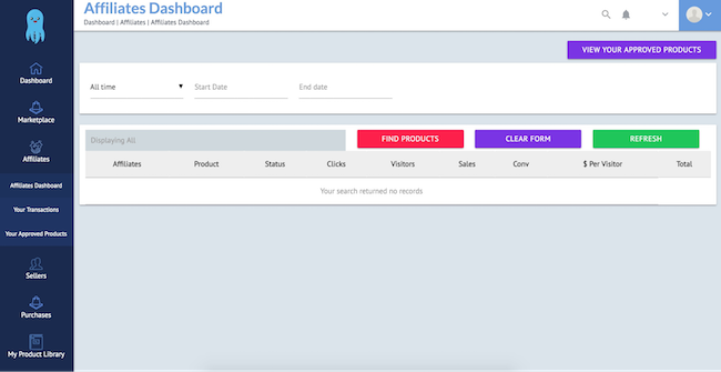 BuilderAll Affiliate Dashboard