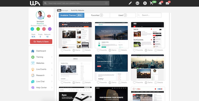 Wealthy Affiliate WP Themes