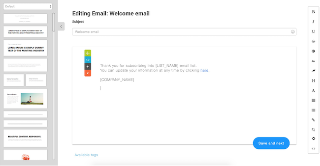 BuilderAll MailingBoss Email Editor