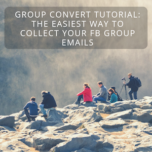 Group Convert Tutorial