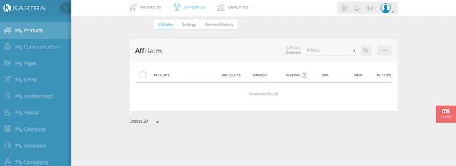 affiliate data