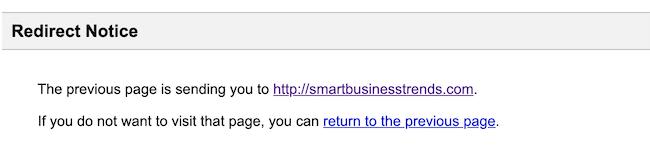 Designrr Google redirect