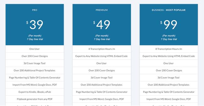 designrr pricing