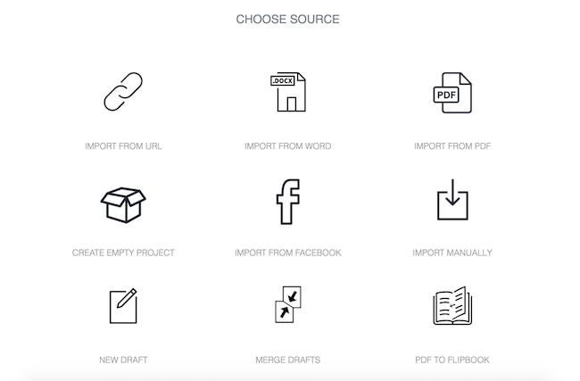 choose content source