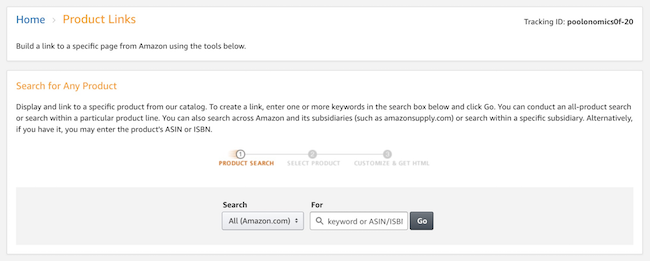 generate product links