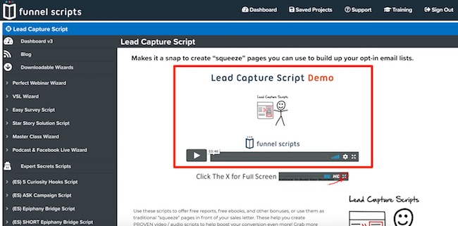 script demo