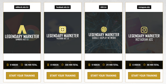 Colors And Sizes Internet Marketing Program Legendary Marketer