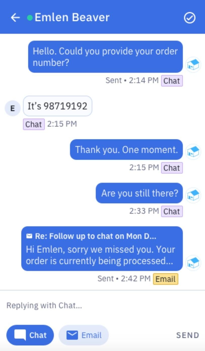 conversation example