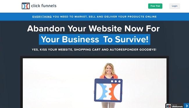 clickfunnels website