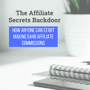 The Affiliate Secrets Backdoor
