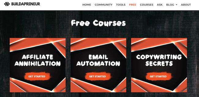Spencer's Free Courses