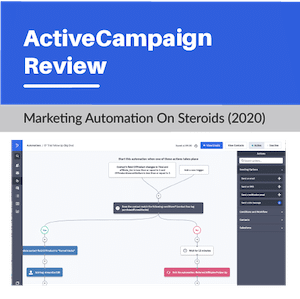 Email Marketing Active Campaign  Youtube Review