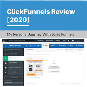 Clickfunnels Why Control Page No Traffic
