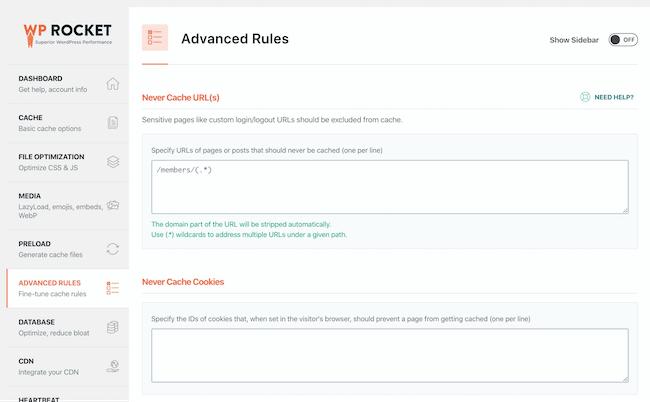 Advanced Rules