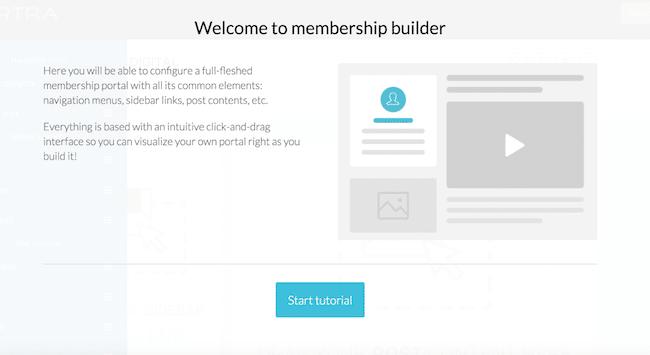 Membership sites on Kartra