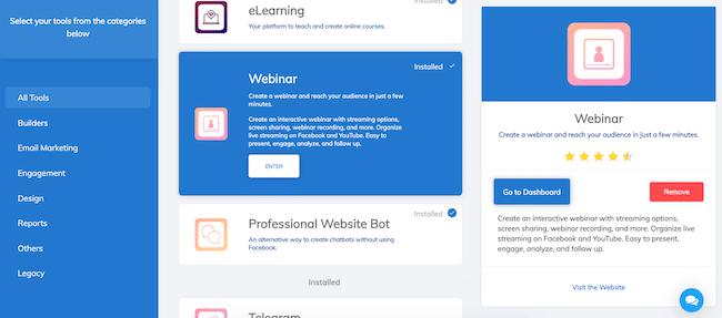 BuilderAll includes webinar solutions