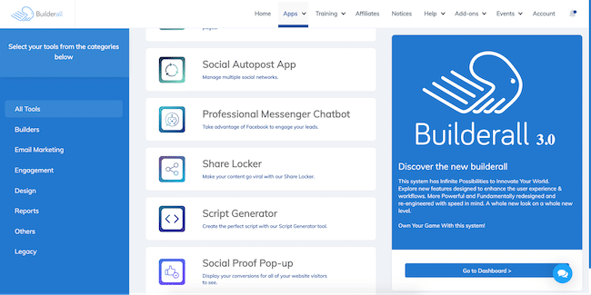 Other marketing tools on BuilderAll