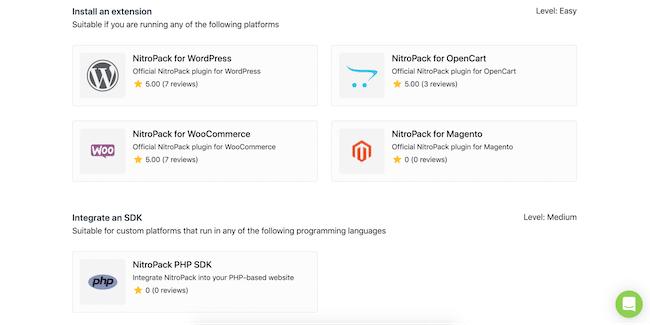 NitroPack WordPress